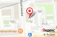 Схема проезда до компании Дельта Промо в Москве