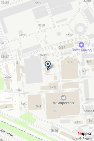 LaMebel на карте Москвы