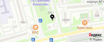 ВЛАТА, ЗАО на карте Москвы