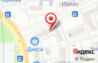 Схема проезда до компании Виалант в Москве