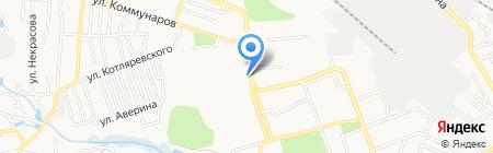 Задаром на карте Донецка