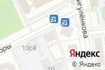 Схема проезда до компании Лайта в Москве