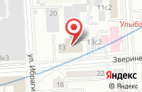Схема проезда до компании Диалог-21 Век в Москве