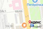 Схема проезда до компании ПравоДел в Москве