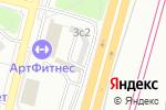 Схема проезда до компании СП СтройМонтажПроект в Москве