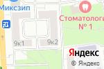 Схема проезда до компании U-merq в Москве