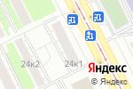 Схема проезда до компании МАСЛАБОЧКА в Москве