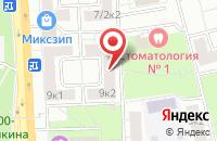Схема проезда до компании Варда в Москве