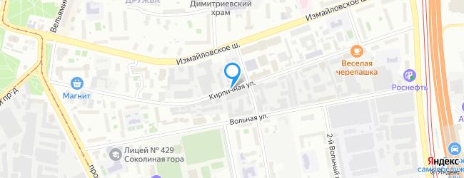 Кирпичная улица
