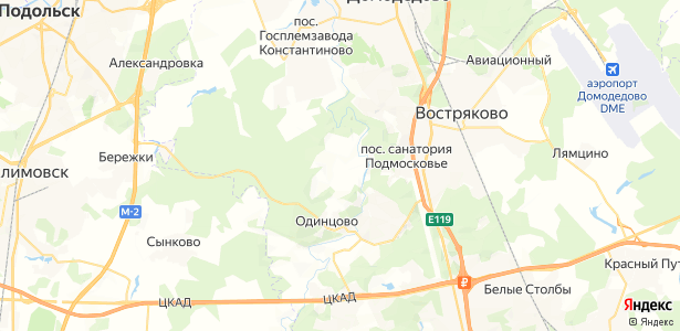 Битягово на карте
