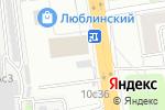 Схема проезда до компании Люкс-М в Москве