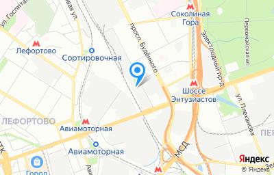 Местоположение на карте пункта техосмотра по адресу г Москва, ул Буракова, д 14 стр 5