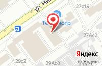 Схема проезда до компании Стройпрогресс в Москве