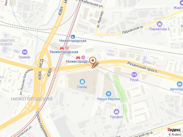Остановка «Ст. Нижегородская», Рязанский проспект (1006459) (Москва)