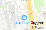 Схема проезда до компании АлПро в Москве