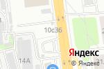 Схема проезда до компании Пит-Стоп в Москве