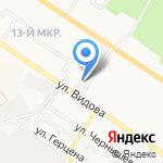 Автостоянка на карте Новороссийска