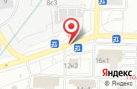 Схема проезда до компании Аксист в Москве