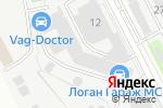 Схема проезда до компании Банька на дровах в Москве