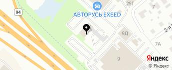 Мосавтогаз на карте Москвы
