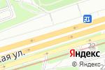 Схема проезда до компании Руспортинг в Москве