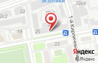 Схема проезда до компании Союз Производителей Головных Уборов в Москве