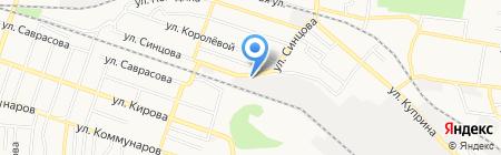 Промстройсервис на карте Донецка