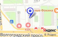 Схема проезда до компании ВЫСТАВОЧНАЯ КОМПАНИЯ РАДУГА в Москве
