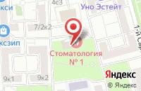 Схема проезда до компании Ск Виктория в Москве