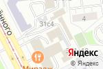 Схема проезда до компании Brick House в Москве