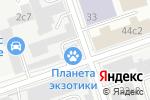Схема проезда до компании Fanpresent в Москве