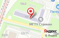 Схема проезда до компании Атикс в Москве
