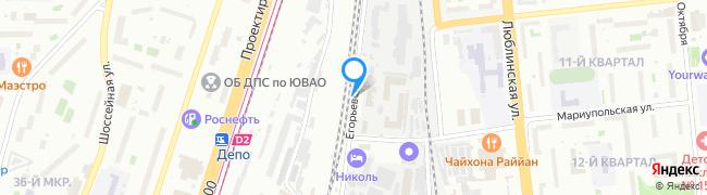 Егорьевская улица
