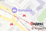 Схема проезда до компании Станция Бульвар Рокоссовского в Москве