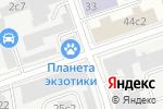 Схема проезда до компании ВСБ Сервис в Москве