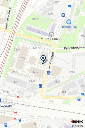 АВТОБАЗА № 3 на карте Москвы