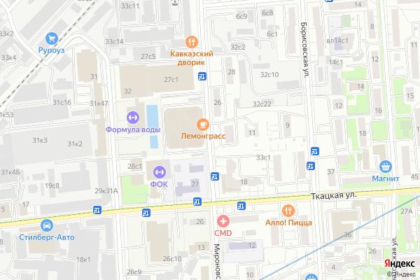 Ремонт телевизоров Улица Мироновская на яндекс карте