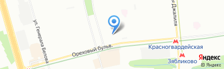 НД Строй на карте Москвы