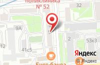 Схема проезда до компании Мир Событий в Москве