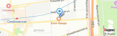 Мирада на карте Москвы