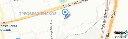Контингент на карте Москвы