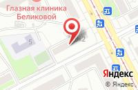 Схема проезда до компании Ирис в Москве