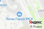 Схема проезда до компании Мания свет в Москве