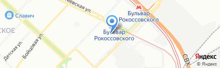 Мебель-заказ на карте Москвы