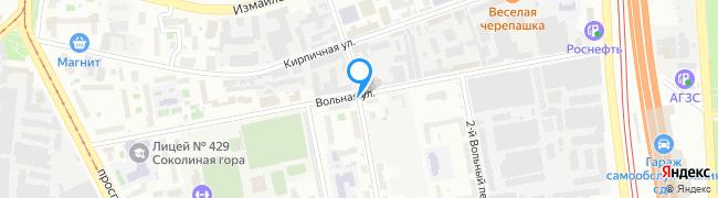 переулок Кирпичный 1-й