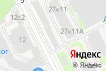 Схема проезда до компании Грань-А в Москве