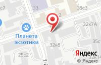 Схема проезда до компании Арт-Галактика в Москве