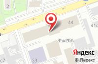 Схема проезда до компании Унопринт в Москве