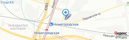 МАС-Хэндлинг на карте Москвы