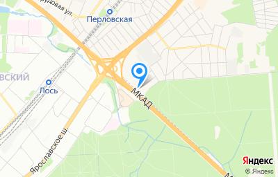 Местоположение на карте пункта техосмотра по адресу Московская обл, г Мытищи, ул 3-я Колхозная, д 9